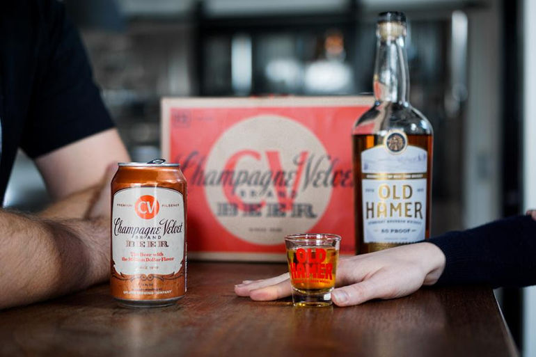 Upland Brewing Co. Creates Hoosier Hi-Five with West Fork Whiskey Co.