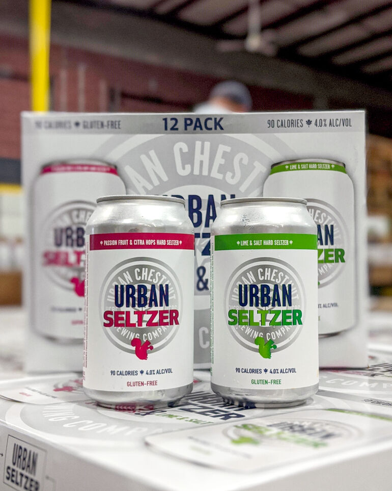 Urban Chestnut Brewing Co. Debuts First Hard Seltzers