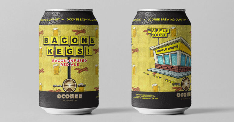 Waffle House Partners with Oconee Brewing Co. on Beer That Smells Like Bacon