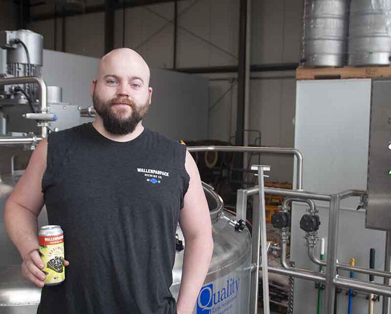 Wallenpaupack Brewing Co. Head Brewer Logan Ackerley Talks 'Pack & Brass