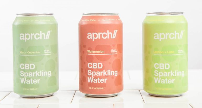 Wellness Beverage Brand Aprch Debuts CBD Sparkling Water