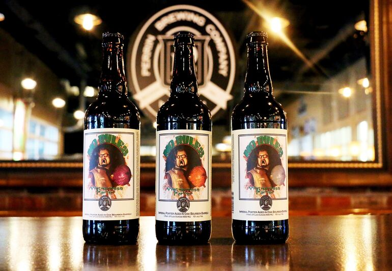What is a Vertical Tasting? Photo Courtesy Perrin Brewing Co.