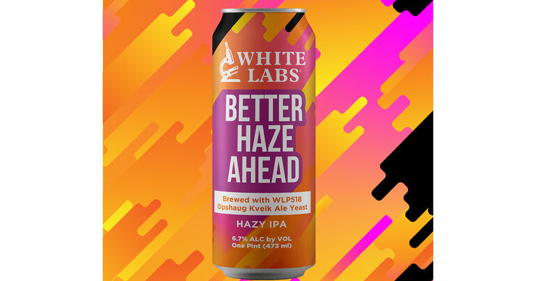 White Labs Announces Better Haze Ahead IPA & 10° P Pilsner Now Available in Cans