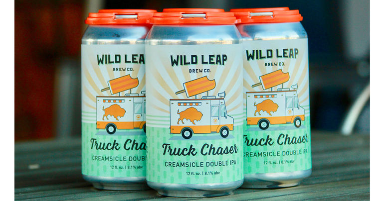 Wild Leap Brew Co.'s Truck Chaser Creamsicle Double IPA Returns