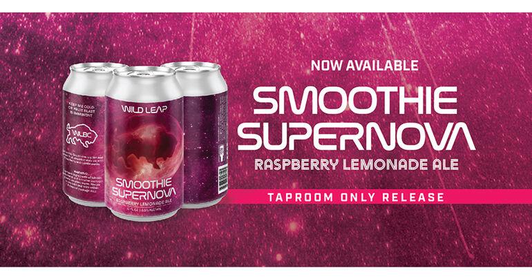 Wild Leap Brew Co. Announces New Smoothie Supernova Series