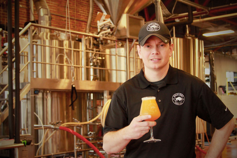 Wild Leap Brew Co. Chief Brewing Officer Chris Elliott Talks Caramel Cake Stout