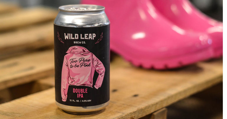 Wild Leap Brew Co. Commemorates International Women's Day with Limited Edition Too Pure to Be Pink Double IPA