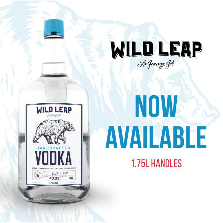 Wild Leap Brew Co. Debuts 1.75L Handles of Vodka