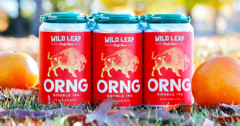 Wild Leap Brew Co. Debuts ORNG Double IPA