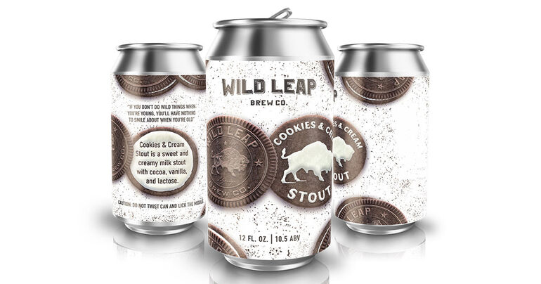 Wild Leap Brew Co. Releases Cookies & Cream Stout