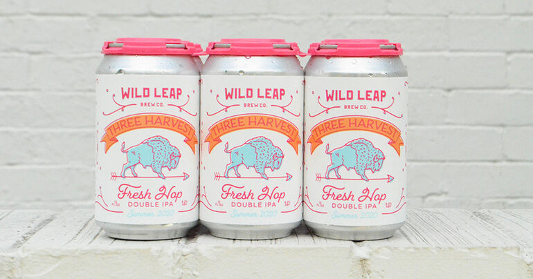 Wild Leap Brew Co. Unveils Three Harvest Double IPA Summer 2020 Version