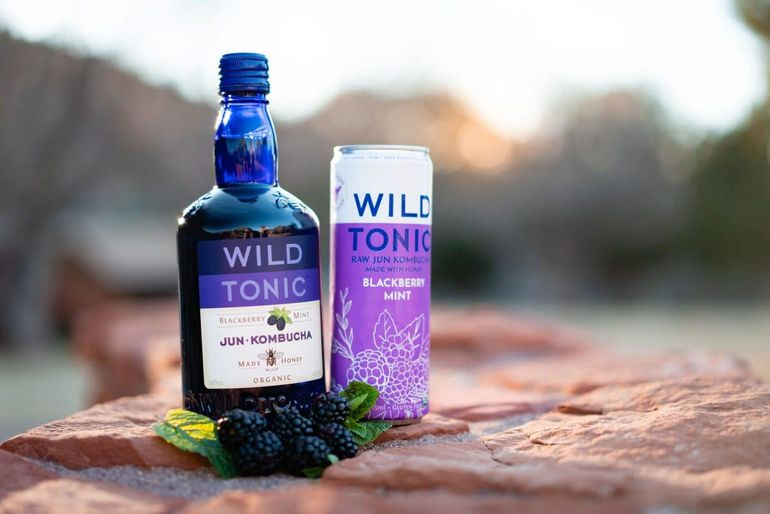 Wild Tonic Kombucha Now Available in 12-Ounce Slim Cans