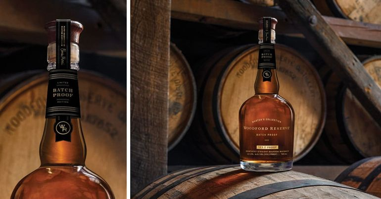 Woodford Reserve Bourbon Unveils Limited-Edition Batch Proof Series