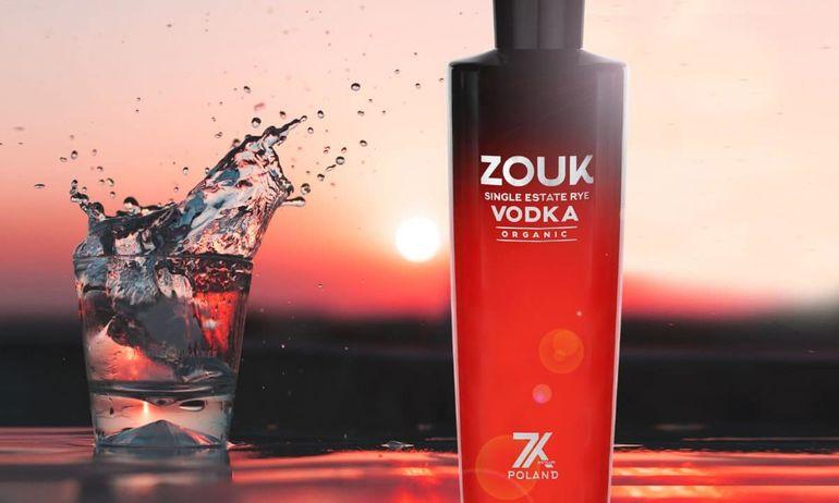 Zouk Single-Estate Organic Rye Vodka Debuts