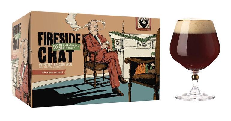 21st Amendment Brewery's Holiday Seasonal Fireside Chat Returns