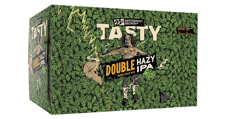 21st Amendment Brewery Releases Tasty, a New Imperial Hazy IPA