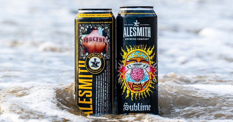 AleSmith Honors 25th Anniversary of Sublime's Self-Titled Album with New Cans