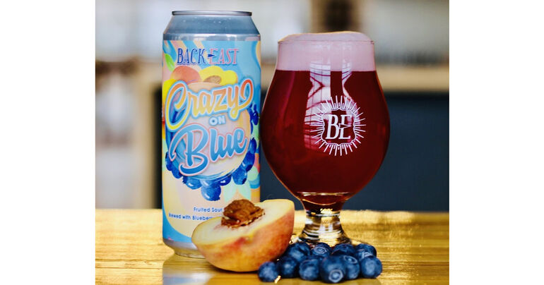 Back East Brewing Co. Introduces Crazy on Blue Fruited Sour