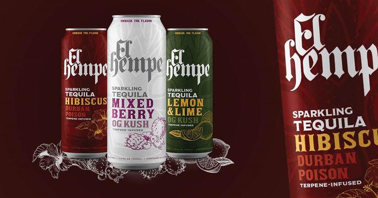 Beverage Industry Veterans Launch Line of Terpene-Infused Tequila Seltzers Called El Hempe