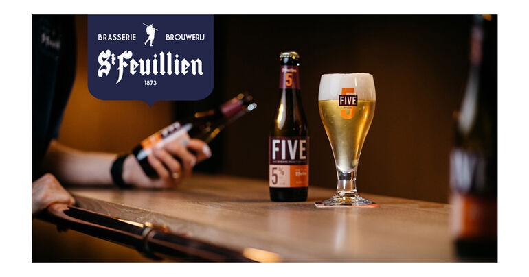 Brasserie St. Feuillien Releases New Bottle-Conditioned Specialty Belgian Blond Ale St. Feuillien FIVE