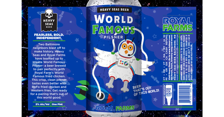 Heavy Seas & Royal Farms Announce Collaboration Beer Re-Release
