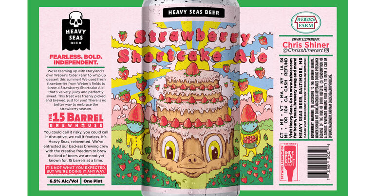 Heavy Seas Announces Collaboration Can Release With Weber's Cider Mill Farm