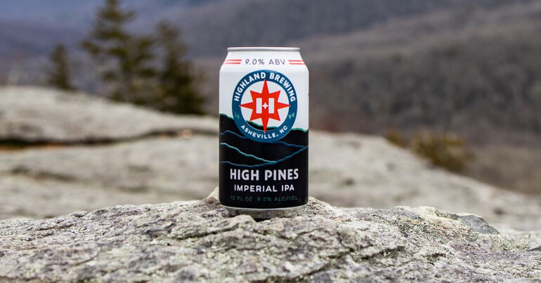 Highland Brewing Co. Adds High Pines Imperial IPA to Year-Round Lineup
