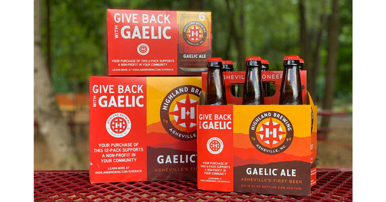"""Highland Brewing Co. Launches Second Year of """"Give Back with Gaelic"""" Campaign"""
