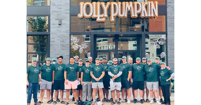Jolly Pumpkin Artisan Ales Named Official Restaurant of Michigan State's Offensive Linemen and Long Snappers