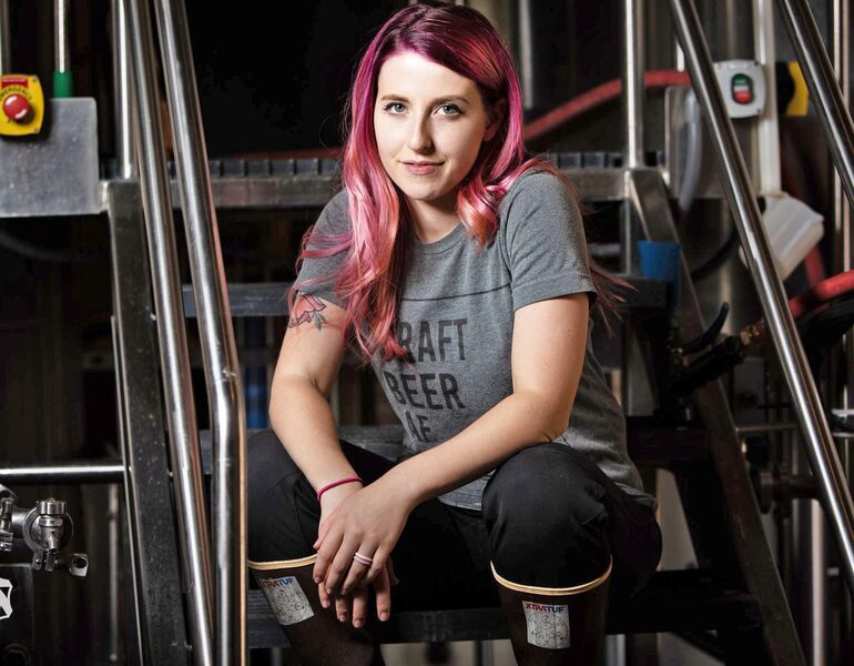 A Day in the Life of Alyssa Thorpe, Head Brewer at Jagged Mountain Craft Brewery