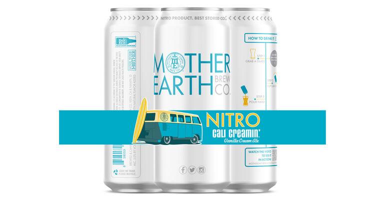Mother Earth Brew Co. Debuts Nitro Cali Creamin' Vanilla Cream Ale
