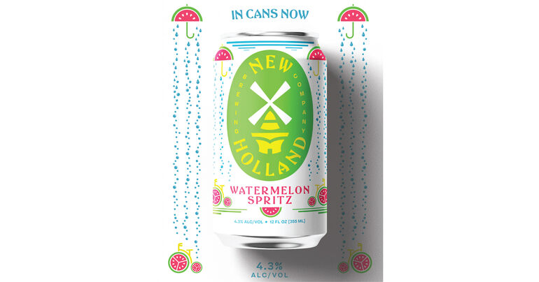 New Holland Brewing Co. Debuts Watermelon Spritz, a Beer and Seltzer Hybrid