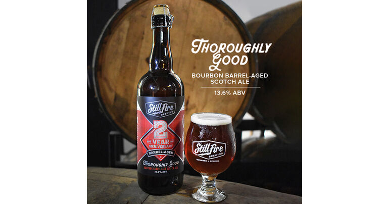 StillFire Brewing Celebrates Second Anniversary with Thoroughly Good Bourbon Barrel-Aged Scotch Ale