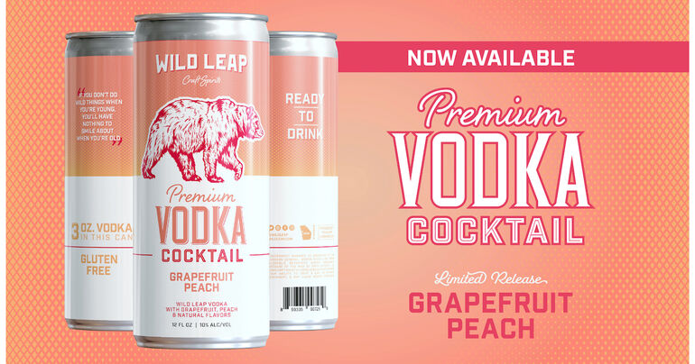 Wild Leap Brew Co. Debuts First New Ready-To-Drink Vodka Cocktail Flavor