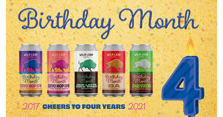 Wild Leap Celebrates Fourth Anniversary With Exclusive Birthday Month Series