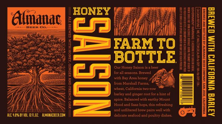 Almanac Beer Co. Honey Saison