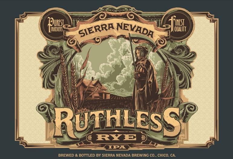 Sierra Nevada Ruthless Rye Label