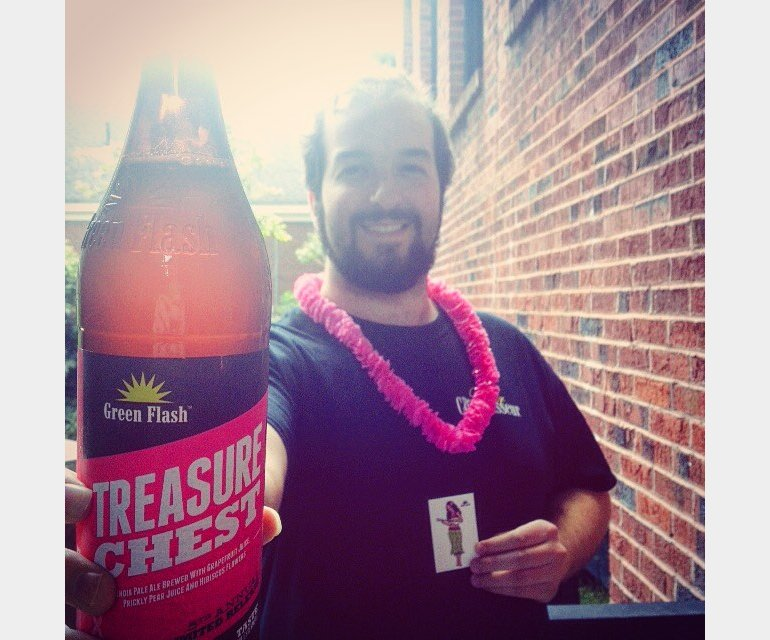 Green Flash Beer Connoisseur