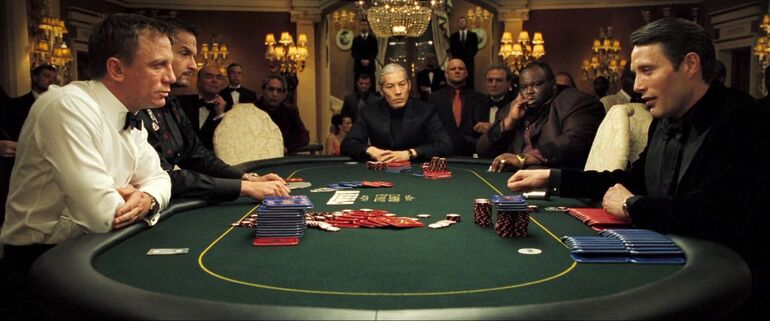 It's Not Just James Bond Who Likes to Drink and Gamble