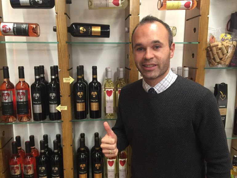 World Footballers Who Have Produced Wine