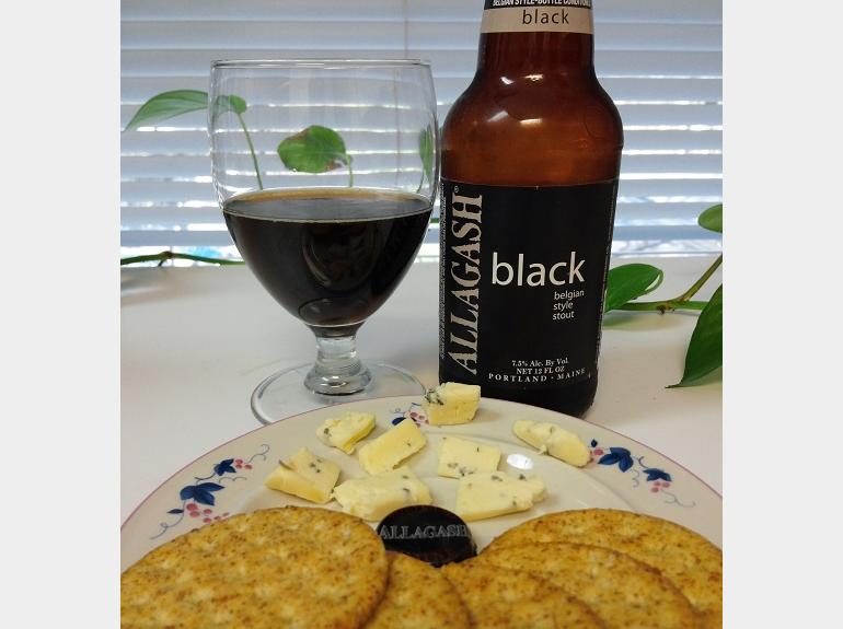 Allagash Black and Cheese Plate