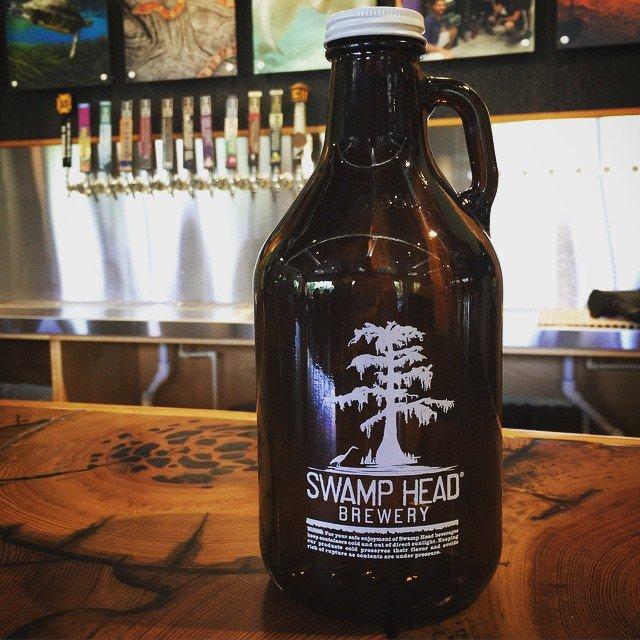 Swamp Head Brewery, Beer Connoisseur Magazine, Florida Growler Bill