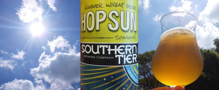 Southern Tier Hop Sun Wheat Beer