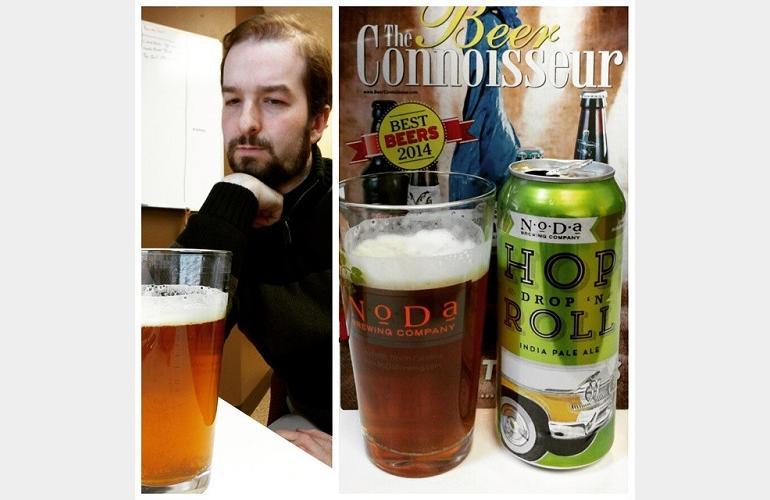 NoDa Brewing Hop Drop 'n Roll IPA