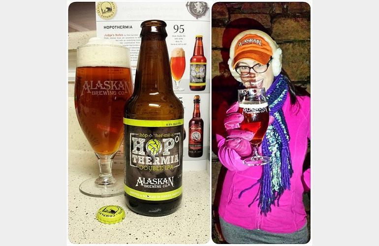 Alaskan Brewing Hopothermia Double IPA