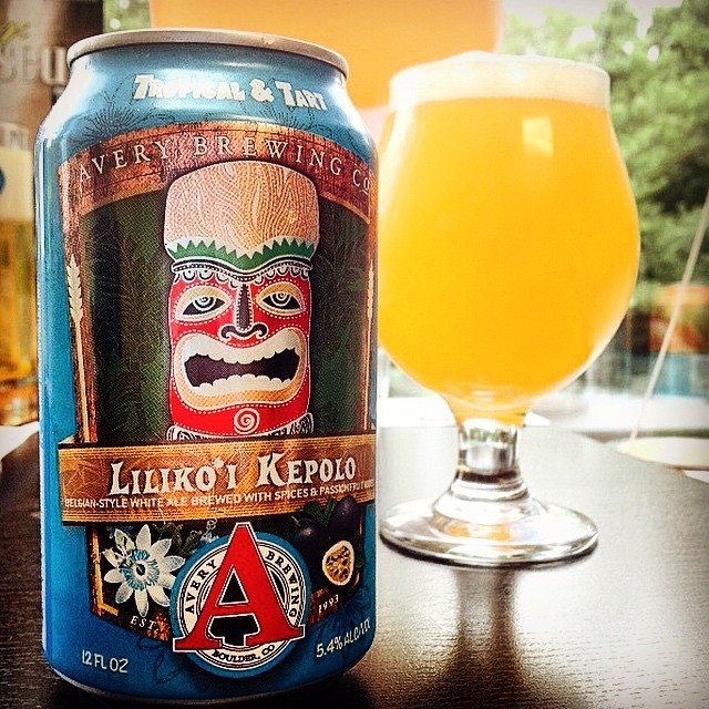 Avery Brewing Company Beer Connoisseur Liliko'i Kepolo