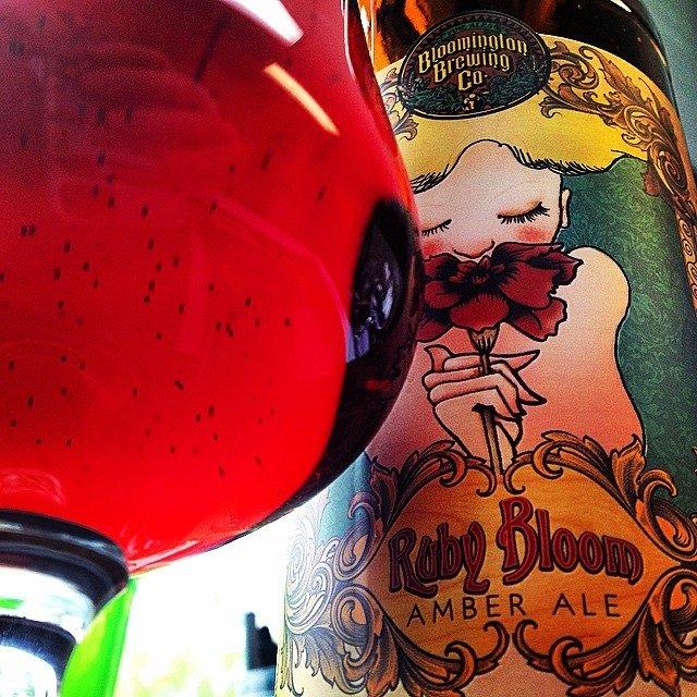 Beer Connoisseur Pint Break, Ruby Bloom, Bloomington Brewing Company