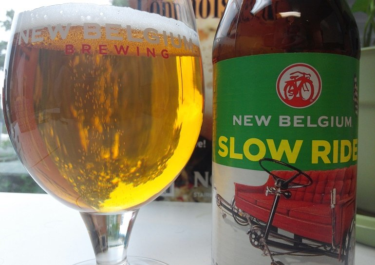 New Belgium Brewing Slow Ride Session IPA