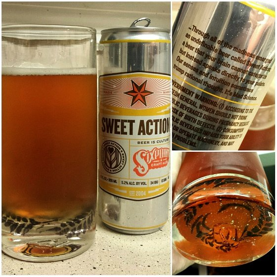 Sixpoint Brewery Sweet Action Ale