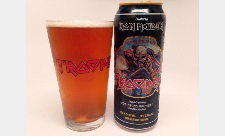 Robinsons Trooper Iron Maiden